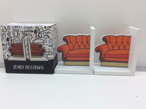 Culturefly Friends The Television Series Orange Couch Bookends