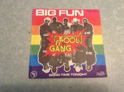 Disque vinyle 45 tours /kool & the gang, big fun