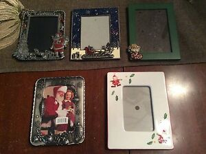 Christmas and regular frames (prices listed below)