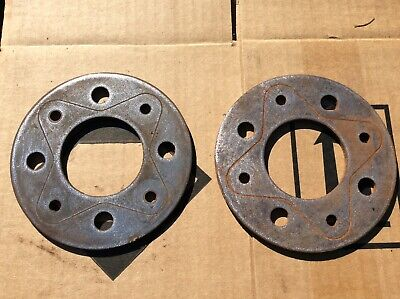 Lancia Montecarlo Dino Fiat 850 Spider Coupe pair Hub spacers 4 x 98 pcd 5mm  for sale  Shipping to South Africa