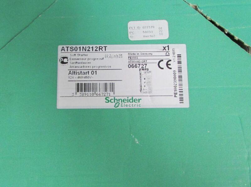 GROUPE SCHNEIDER Soft Starter ATS01N212RT 440 480V