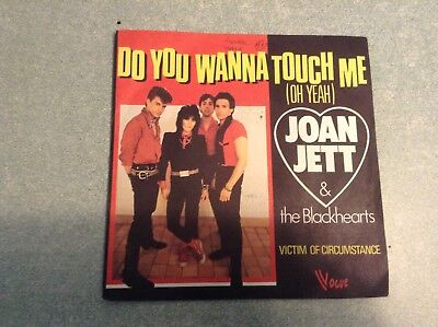 Disque vinyle 45 tours / do you wanna touch me