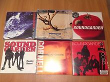5 Soundgarden CD Single Seattle Grunge Rock Ty Cobb Pretty Nose Bentley Canning Area Preview