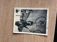 U1-3 B/w Photograph Old 1950s Cycling Race East Mids 1950 -  - ebay.co.uk