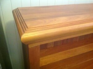 Bookcase. Solid timber - Flooded Gum. Norman Park Brisbane South East Preview