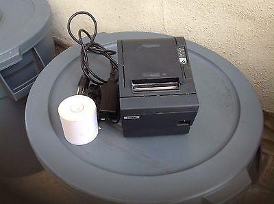 Micros Epson Tm-t88iii Receipt Thermal Printer Idn Interface
