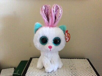 Ty Beanie Boo PURR-LY the Easter Cat 6