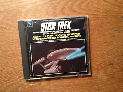 Star Trek Vol.1 [TV Series] [CD Score] Varese Sarabande Fred Steiner Enterprise