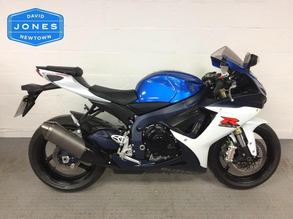 Suzuki GSXR750 GSXR 750 L1 2012 / 12 Blue/White - Completely standard & original