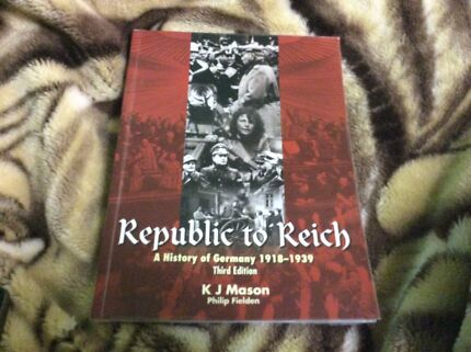 Republic to Reich A history of Germany******1939 Morley Bayswater Area Preview