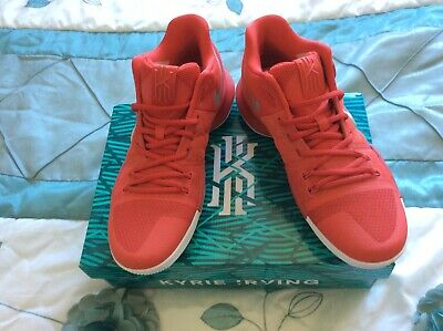 NIKE KYRIE IRVING 3 RED BASKETBALL TRAINERS EUR:42.5 UK:8
