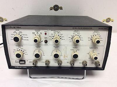 Wavetek Model 801 50MHz Pulse Generator