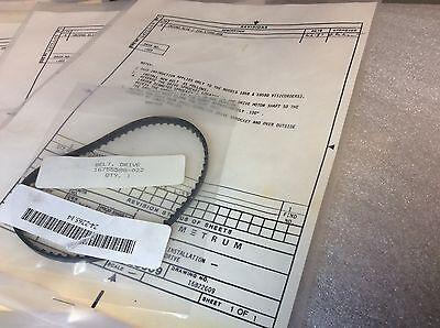 Honeywell 1858 0790g Visicorder Oscillograph Drive Belt 16822609-001 New 49