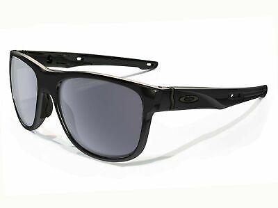 Oakley Sonnenbrille Crossrange R Asiatisch Passform Poliert Schwarz mit / Grau