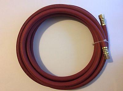 """Propane Gas Line 20ft Hose 3/8"""" Flare Fitting ends LP LPG Parker hose"""