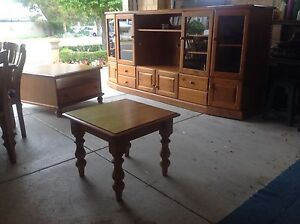 Baltic Pine Lamp Tables x 2 Scarborough Stirling Area Preview
