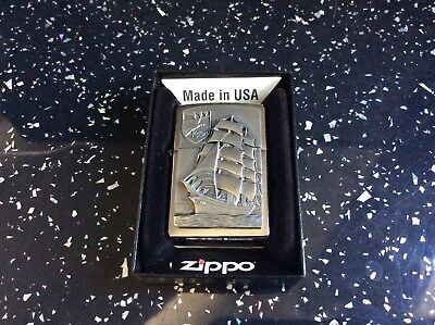 Zippo lighter Gorch Fock  absolutely stunning quality gift.