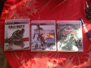 PS3 games and controls
