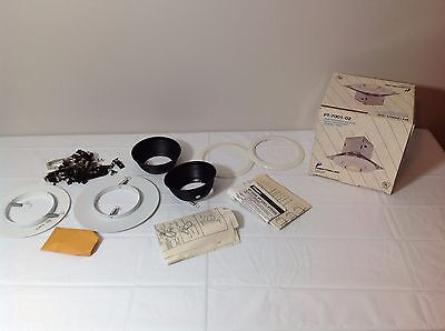 Vintage Edison Mini Recessed Fixture W/ Adjustable Eyeball Trim Mini Recessed Eyeball Trim