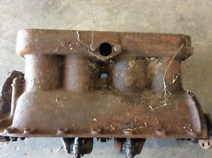 Early 1926 Model T Ford Engine Block with Crank and Pistons
