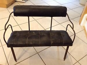 Antique child's buggy seat