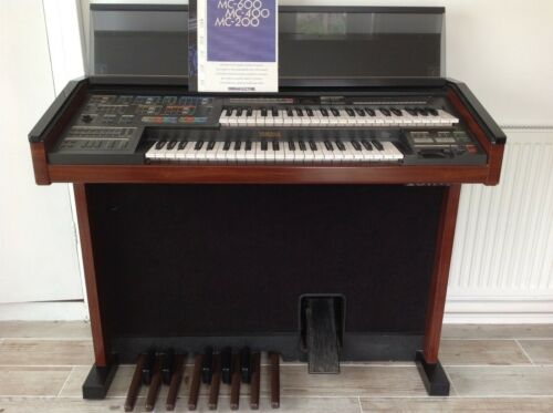 YAMAHA ELECTONE, MC-600, ELECTRIC ORGAN, with INSTRUCTION MANUAL