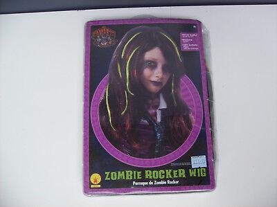 ZOMBIE ROCKER WIG CHILD HALLOWEEN COSTUME](Zombie Rocker Costume)