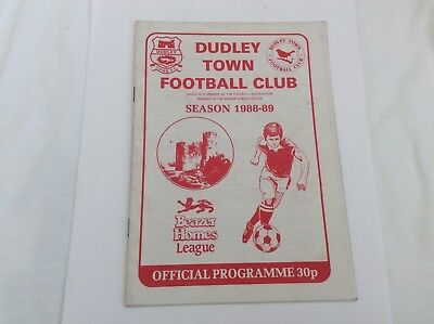Dudley Town V Hednesford Town Beazer Homes League March 1989