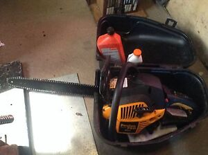 """Used Poulan Pro 42cc chainsaw 18"""""""