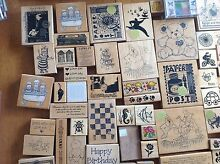 Rubber stamps bulk lot Golden Beach Caloundra Area Preview