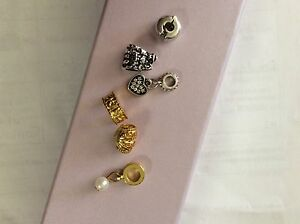 GOLD AND SILVER CHARMS FROM MICHEAL HILL Mysia Loddon Area Preview