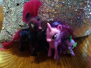 My little pony tempest, twilight and spike