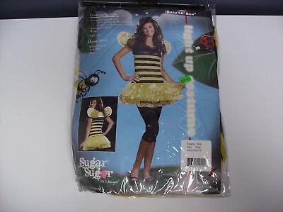 SUGAR SUGAR BUSY LIL' BEE JRS. TEEN HALLOWEEN COSTUME - Busy Bee Halloween Costume