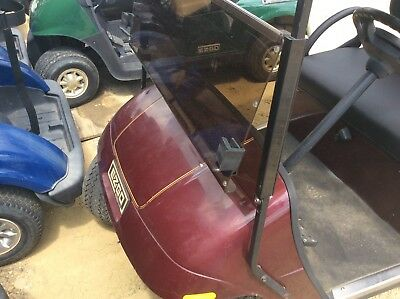 New Tinted Fold Down Windshield for EZGO Golf Carts fits EZG