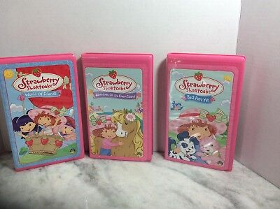 Strawberry Shortcake Lot Of 3 World Of Friends,Ice Cream Island, Best Pets
