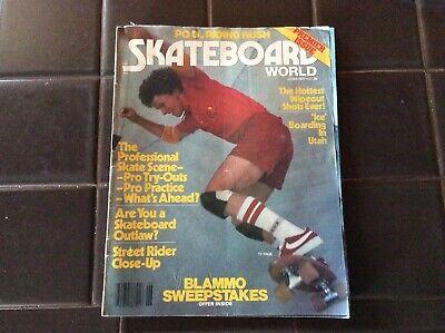 skate board world June 1977 Vintage Magazine