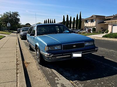 1988 Chevrolet Celebrity Station Wagon Blue - Classic ...