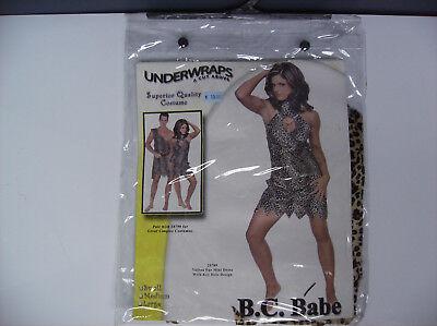 UNDERWRAPS B.C. BABE WOMEN HALLOWEEN COSTUME SMALL