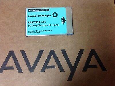 Lucentavaya Partner Acs 12a1 107932071 Backuprestore Pc Card