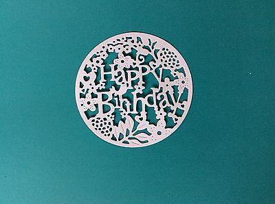 HAPPY BIRTHDAY DIE CUTS