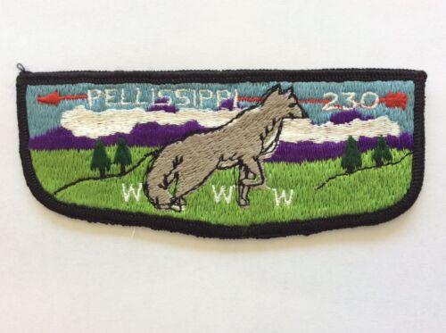 Pellissippi Lodge 230 S-9 pocket flap