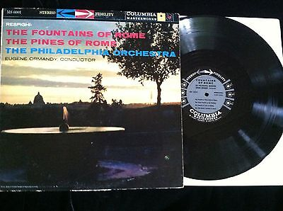Respighi The Fountains of Rome, The Pines of Rome Philadelphia Orch./Ormandy Ex