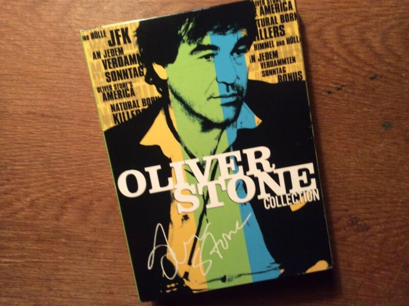 Oliver Stone Collection [ 8 DVD ] FSK18 JFK Natural Born Killers  America