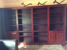 4 cherry wood book shelves Northbridge Willoughby Area Preview