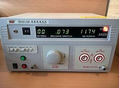 10kv Acdc Hipot Tester High Voltage Meter Insulation Test 110v Ac Version