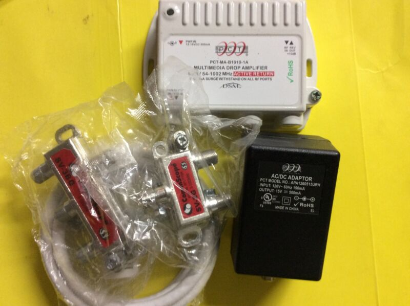 RF Amplifier  Active Return CATV Amp   PCT-MA-B1010-1A - Active Return -