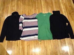 Maternity shirts - small/medium