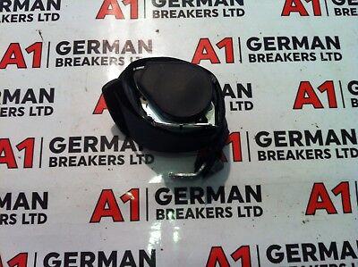 GENUINE 2005 - 2011 AUDI A6 C6 REAR CENTRE BLACK SEAT BELT 4F0857807K