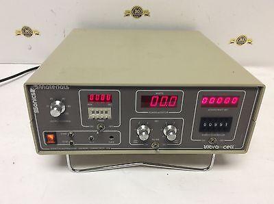 Sonics Materials Inc Vibra Cell Model Vc 60 Processor Lab Test Equipment