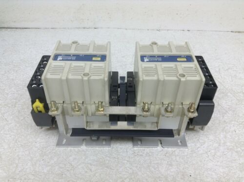 Telemecanique Omron LC1FF43 200/220 VAC Coil Reversing Starter LC1 FF 43 (TSC)